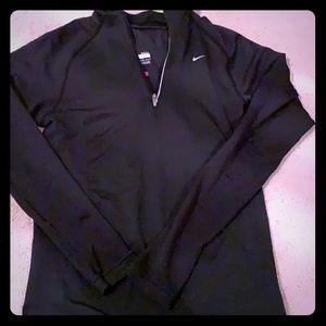 Black Nike FIT Dry jacket